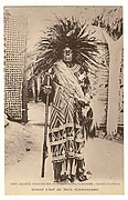 Great chief of Bal&#233; (King Fonyonga II of Bali-Nyonga, r. 190140)